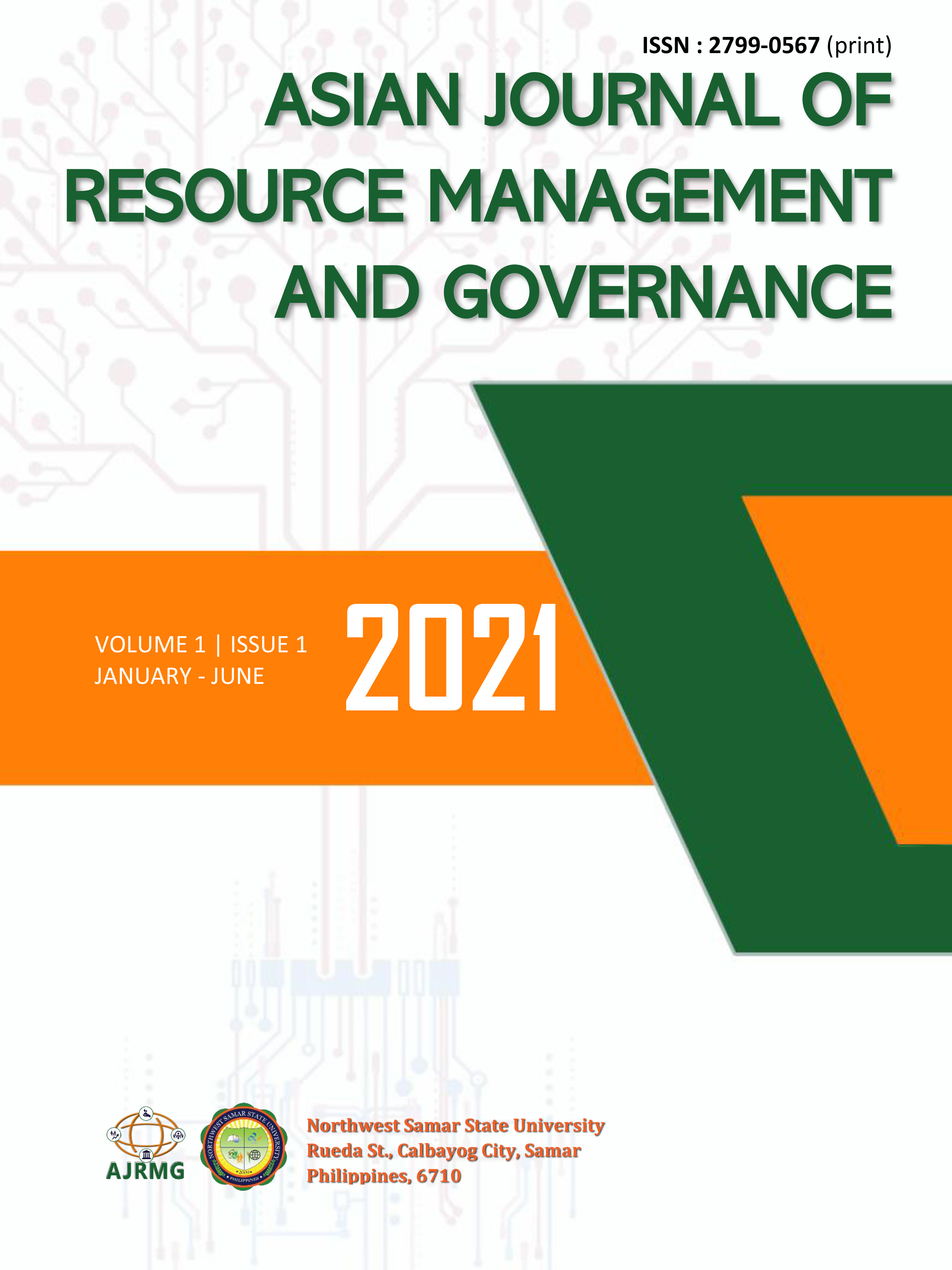 View Vol. 1 No. 1 (2021): Asian Journal of Resource Management and Governance